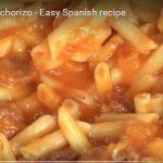 macaroni cooking spanish style