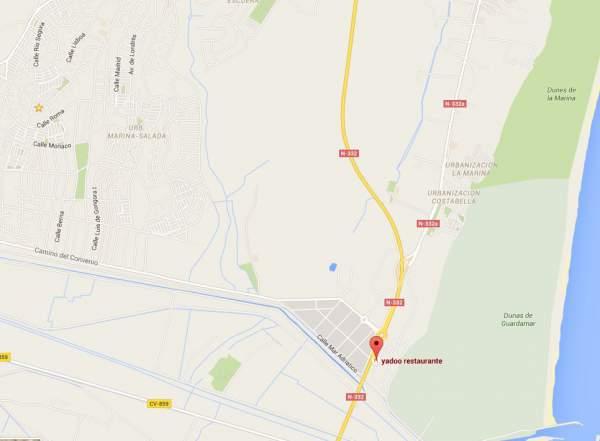 Yadoo Map