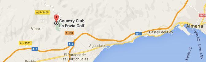 La Envia Golf Map La Envia Golf