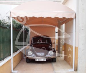 CAR PORT tunel 21-700x600 Spanish Awnings