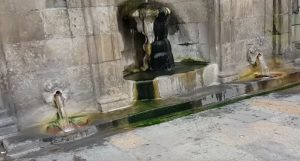 Ourence spring town centre Ourense thermal baths
