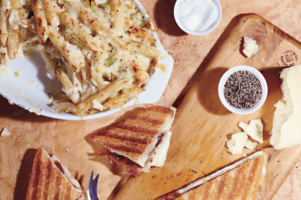 Spanish Grilled Cheese Sandwiches