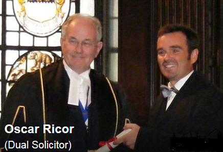 Oscar Ricor Inorgeration Legal Services