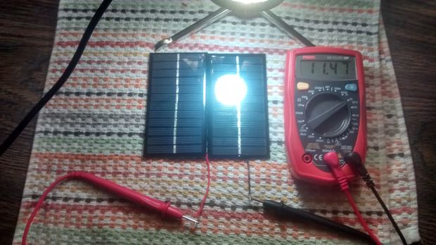 Step 3 Test Your Solar Panels Solar Powered Battery Charger