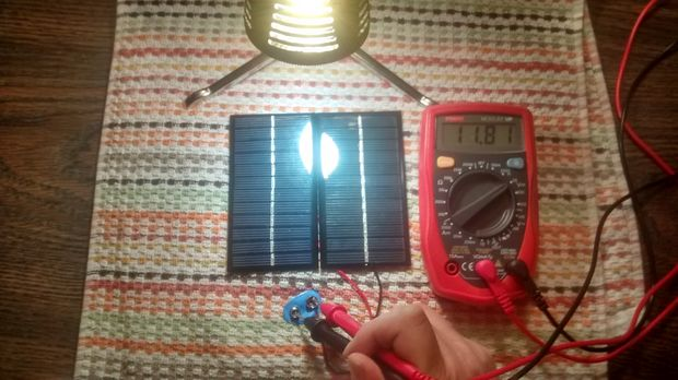 Step 6: Test Your Charger Again, Just to Be Sure. Solar Powered Battery Charger