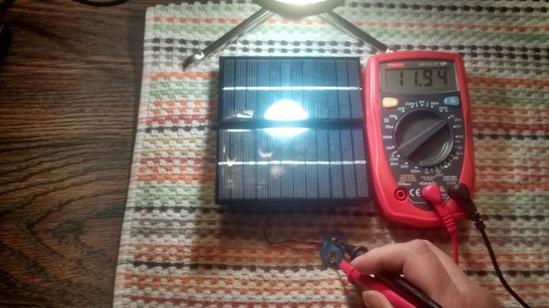 Step 8 Test Your Charger One More Time Solar Powered Battery Charger