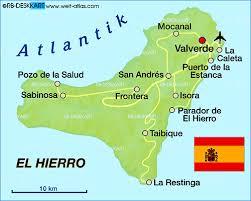 El Hierro Map El Hierro Island