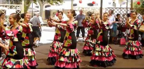 Almeria City fiesta time Almeria