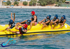 banana boat Jet Skis Fishing Torrevieja