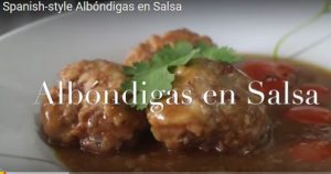 Albondigas en Salsa