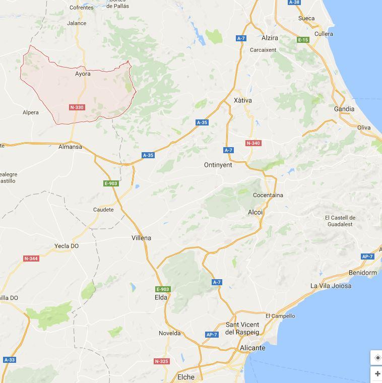 Map-Ayora