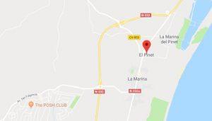el-pinet-map Long Term Rentals Spain