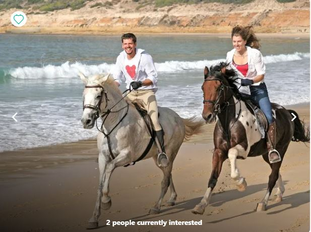 Andalusia horse riding