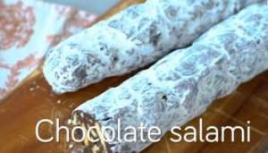Chocolate-Salami