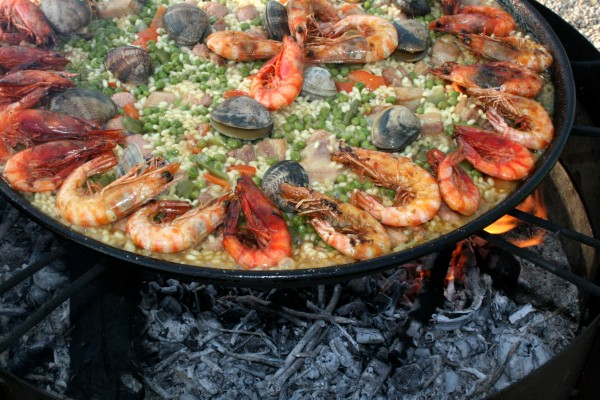 paella cooking class madrid