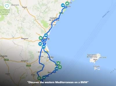 Spanish Coastal Motorcycle Tour