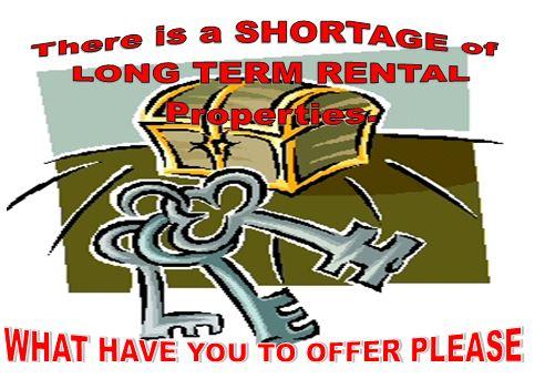 long term rentals La Marina