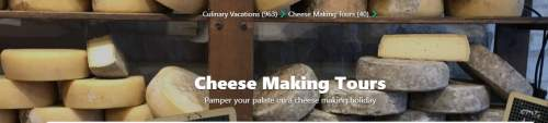 Cheese making tours