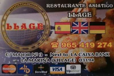Llage in the Village Asian