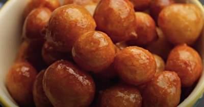 Spanish fried sweet dumplings