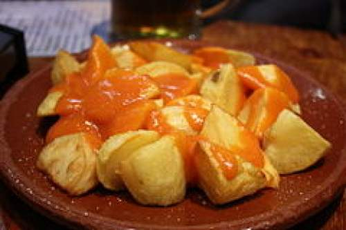 Spanish Potatoes Brava