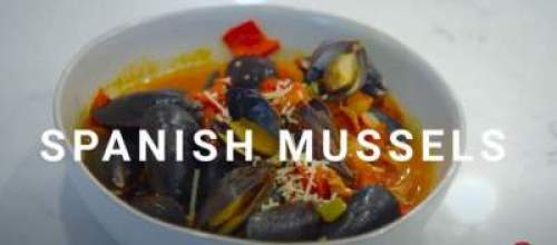 Spanish Mussels add