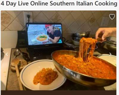 Online cookery courses