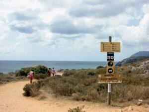 Playa Negret La Manga