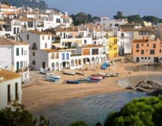 Girona Beach Scene